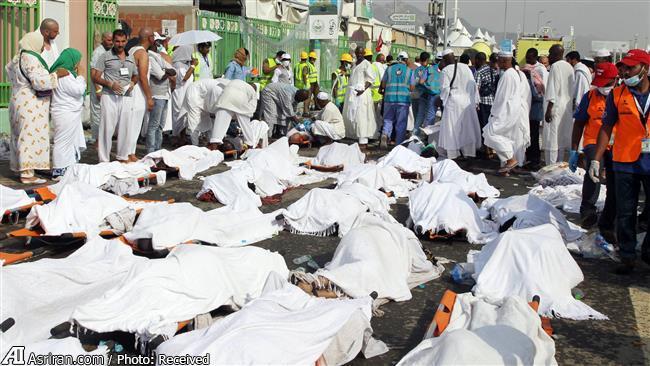 تعداد کل کشته شدگان منا به ۲۰۰۰ نفر رسید