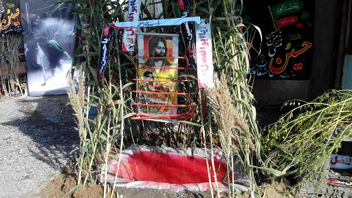 نمایشگاه خیمه عاشورا در روستای تکله کندی برپا شد