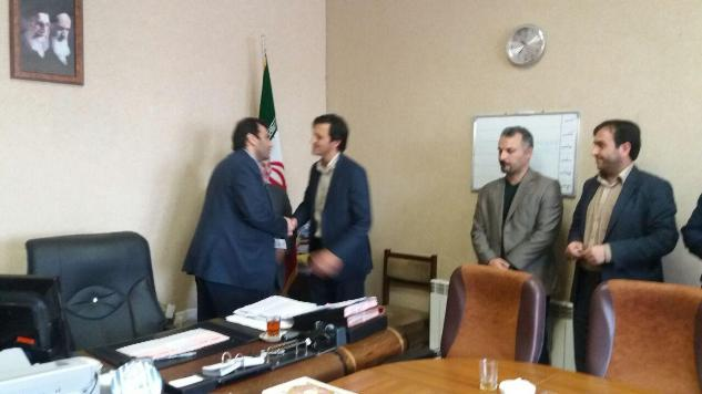 روسای جدید اداره گاز پارس آباد و اصلاندوز معرفی شدند