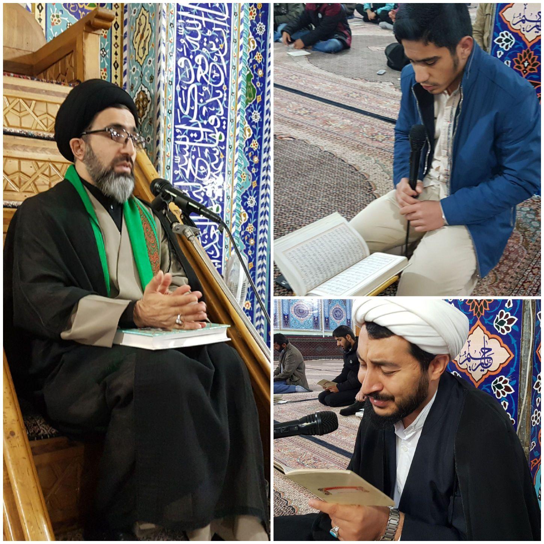 مراسم دعای ندبه در شهرستان پارس آباد مغان ۱۳۹۷.۰۸.۱۱