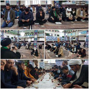 مراسم دعای ندبه در پارس آباد