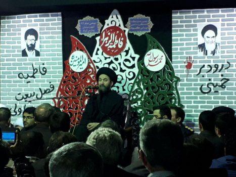 نهمین نمایشگاه یاس کبود به مناسبت ایام فاطمیه در پارس آباد افتتاح شد