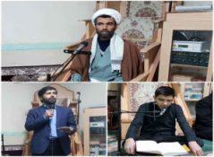برگزاری مراسم عزاداری شب اول ایام شهادت حضرت زهرا (سلام الله علیها) در پارس آباد