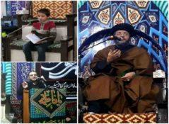 مراسم عزاداری شام شهادت حضرت فاطمه زهراء سلام الله علیها در شهرستان پارس آباد + گزارش تصویری