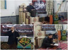 مراسم عزاداری شب هفتم ایام فاطمیه سلام الله علیها در شهرستان پارس آباد