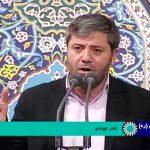 مداحی نادر جوادی در حضور رهبر انقلاب