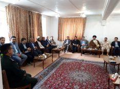 به مناسبت روز پاسدار ، مسئولان شهرستان پارس آباد با نیروهای سپاه شهرستان دیدار کردند