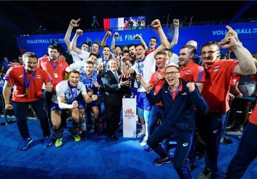 قهرمانی تیم روسیه در لیگ ملتهای والیبال ۲۰۱۹