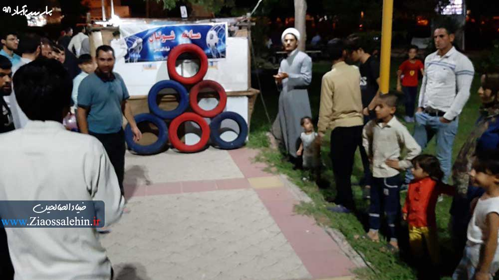 ویژه برنامه های دهه کرامت شهرستان پارس آباد مغان