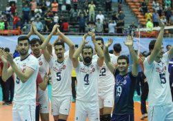 تیم ملی والیبال ایران برای بار سوم قهرمان آسیا شد