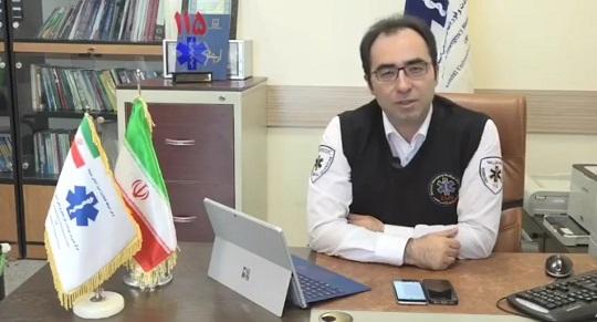 اعزام کاروان اورژانس اردبیل برای ارائه خدمات پزشکی به زائران اربعین حسینی