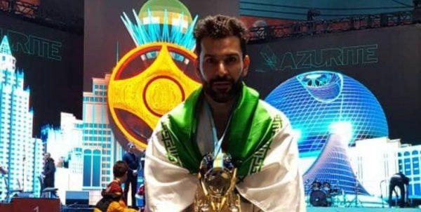 مهدی حسین پور قهرمان مسابقات جهانی اتحادیه کیوکوشین کاراته شد