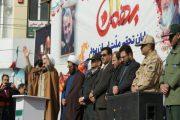 حماسه پرشکوه مردم پارس آباد در راهپیمایی ۲۲ بهمن